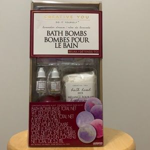 💕5/$15 Creative You DIY Bath Bombs, NEW